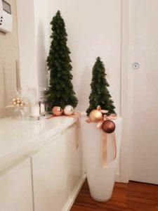 Colori raffinati e delicati per arredare la tua casa durante le feste di Natale.