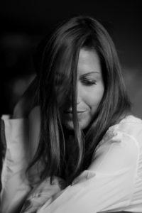 Francesca ritratta da Roberto Zaninelli