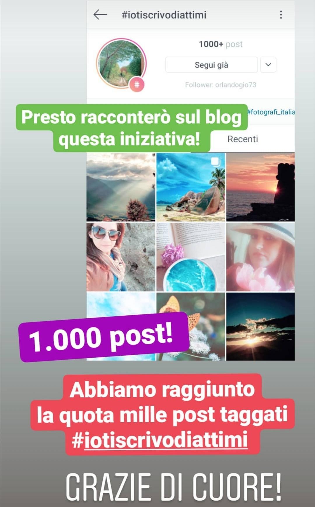 #iotiscrivodiattimi_mille